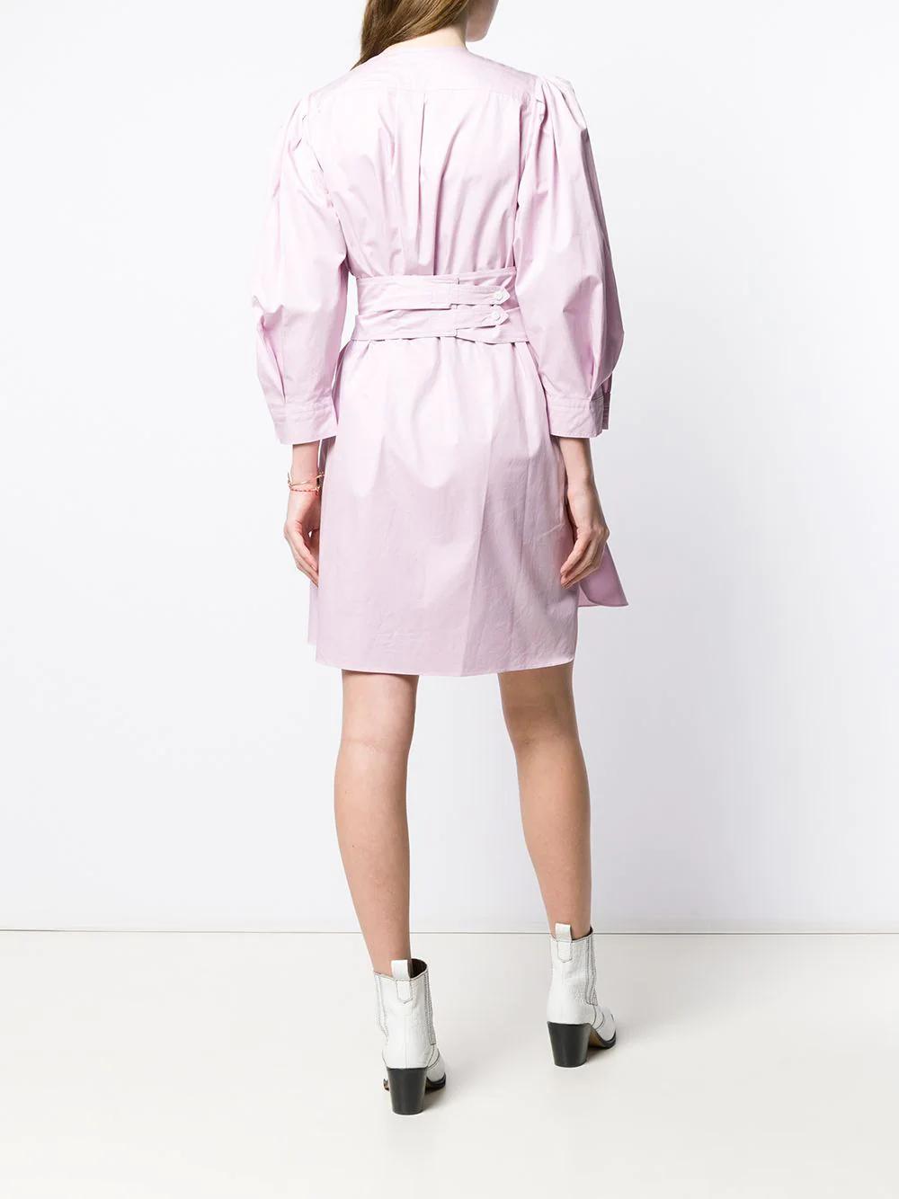 Isabel Marant   поплиновое платье-рубашка   Clouty