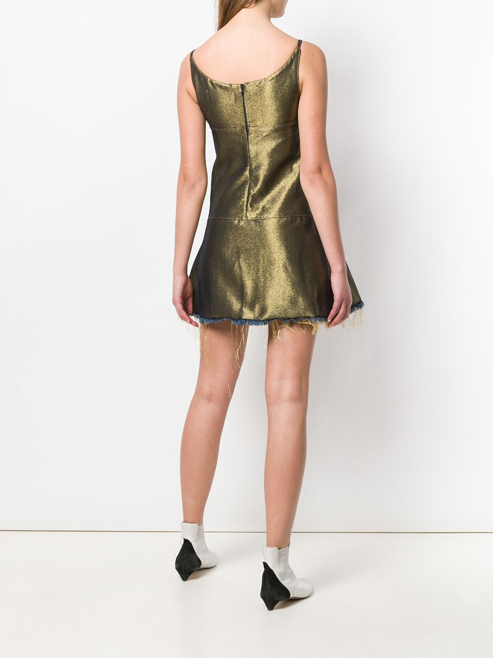MARQUES'ALMEIDA   платье мини с люверсами   Clouty