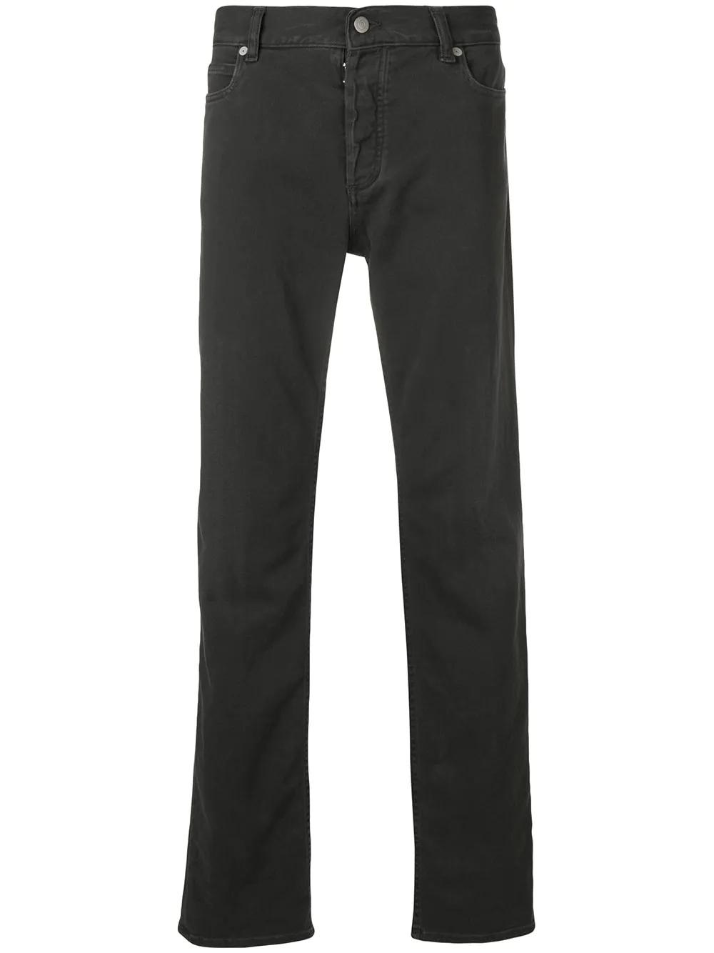 Maison Margiela | Maison Margiela классические джинсы кроя слим | Clouty