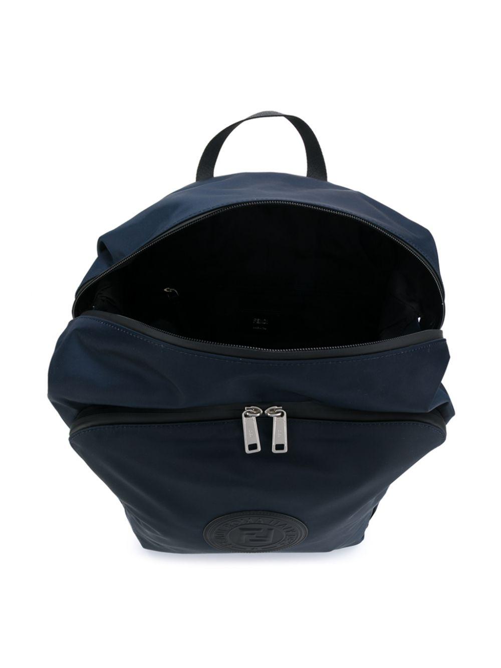 Fendi Children | рюкзак с нашивкой-логотипом | Clouty