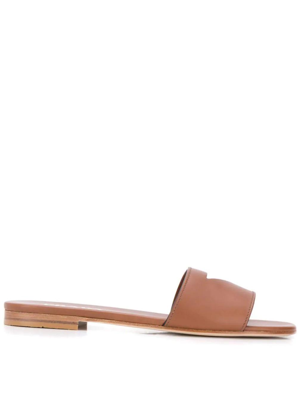 PRADA | сандалии с вырезной деталью | Clouty