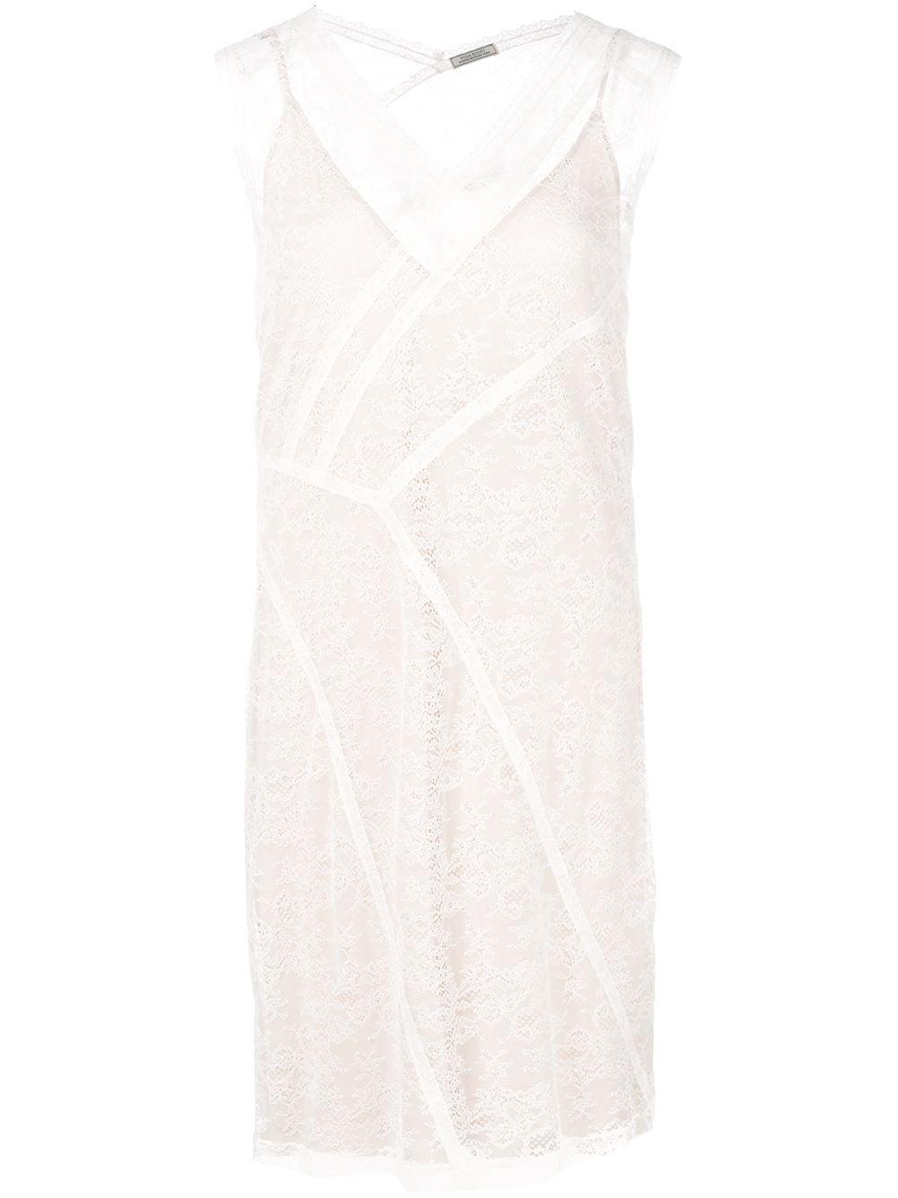 NINA RICCI   приталенное платье со вставками   Clouty