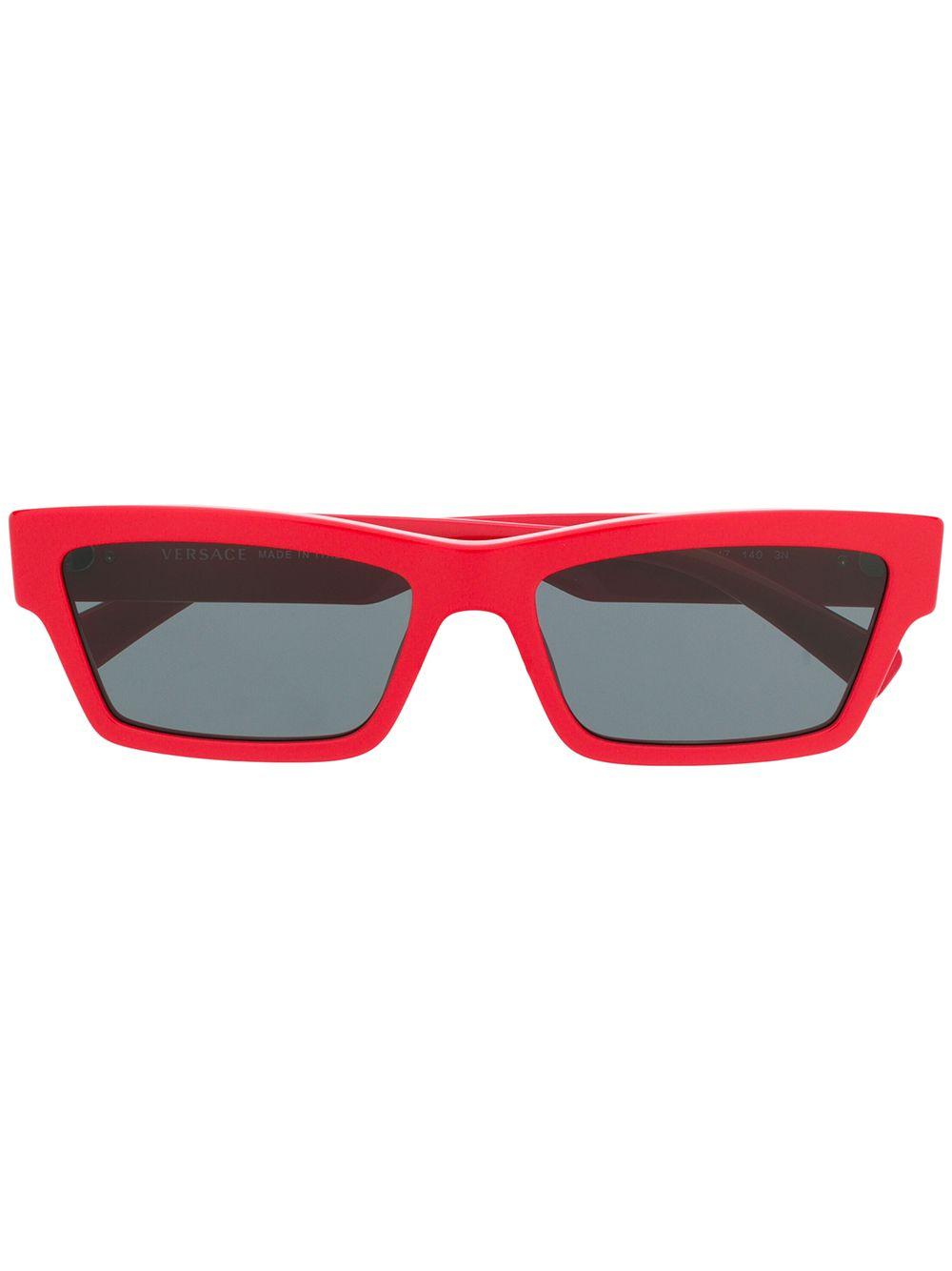 Versace | солнцезащитные очки в прямоугольной оправе | Clouty