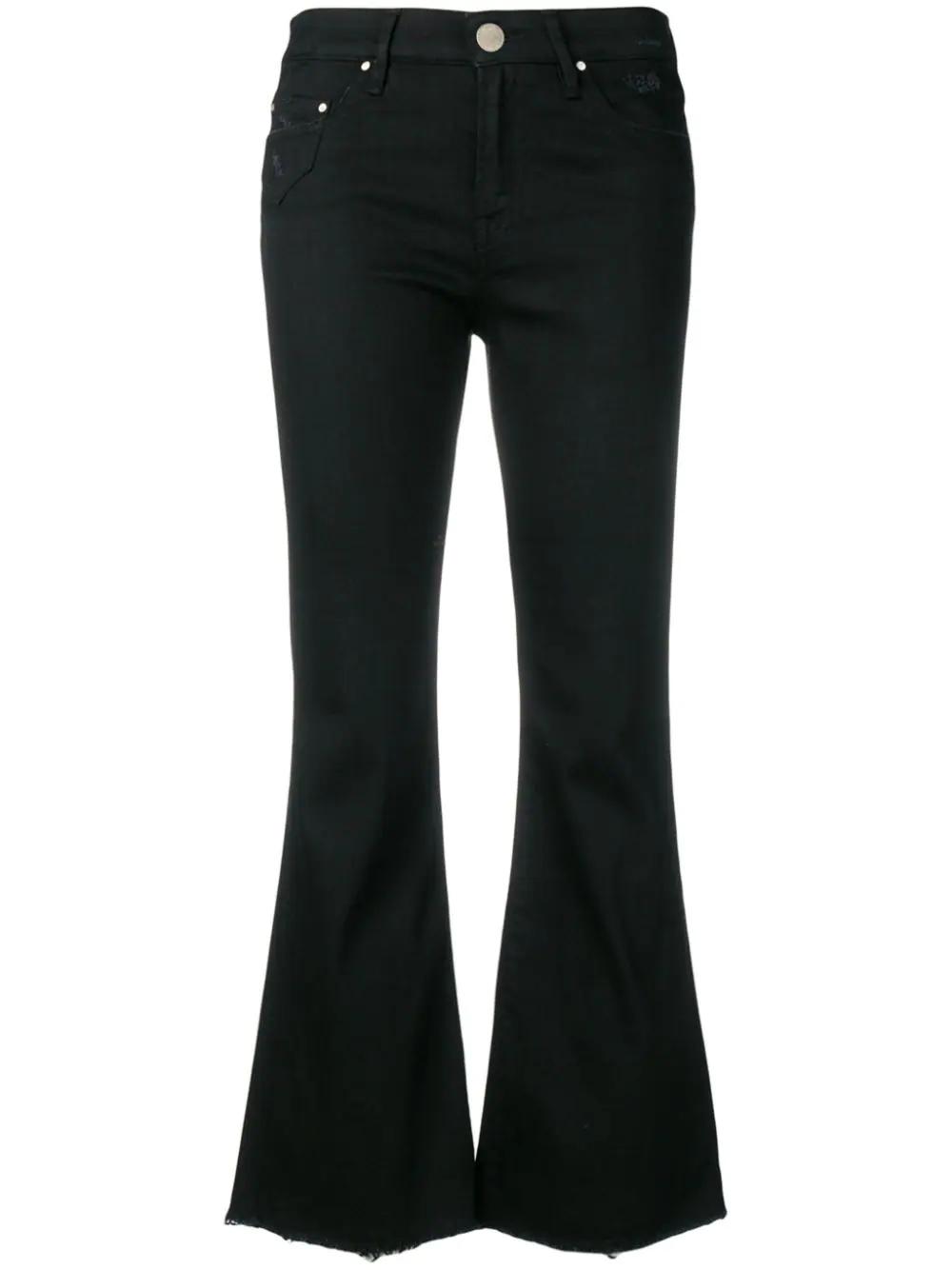 Don'T Cry   укороченные расклешенные джинсы   Clouty