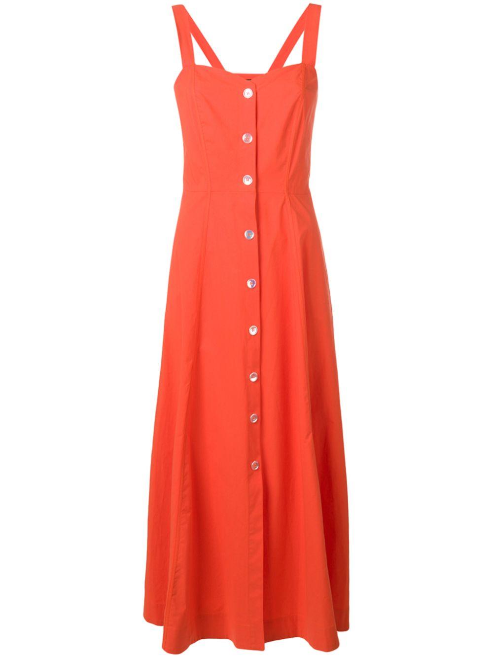 PINKO | расклешенное платье миди | Clouty