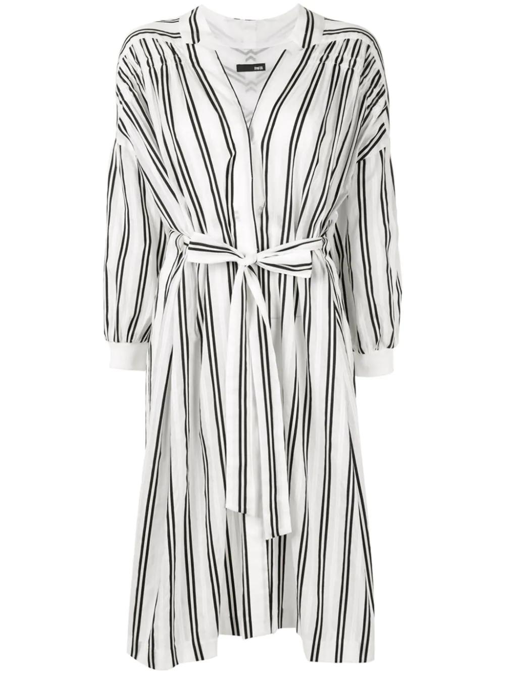 Frei Ea | платье-рубашка в полоску | Clouty