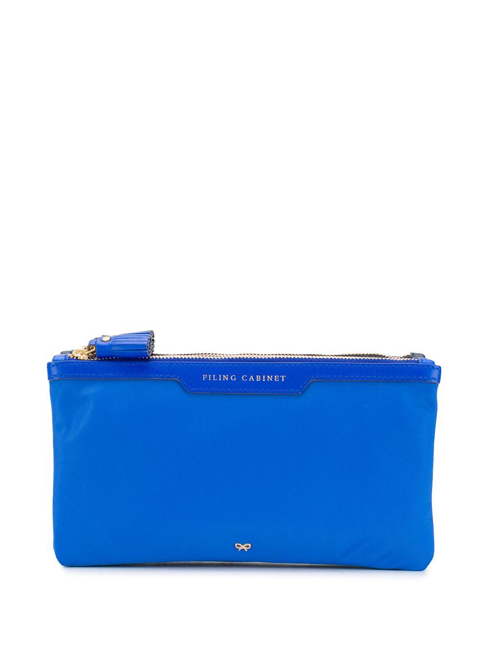 Anya Hindmarch   сумка-клатч Filing Cabinet   Clouty
