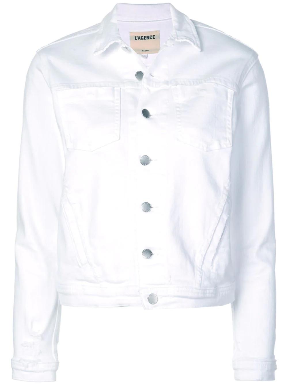 L'Agence | джинсовая куртка | Clouty