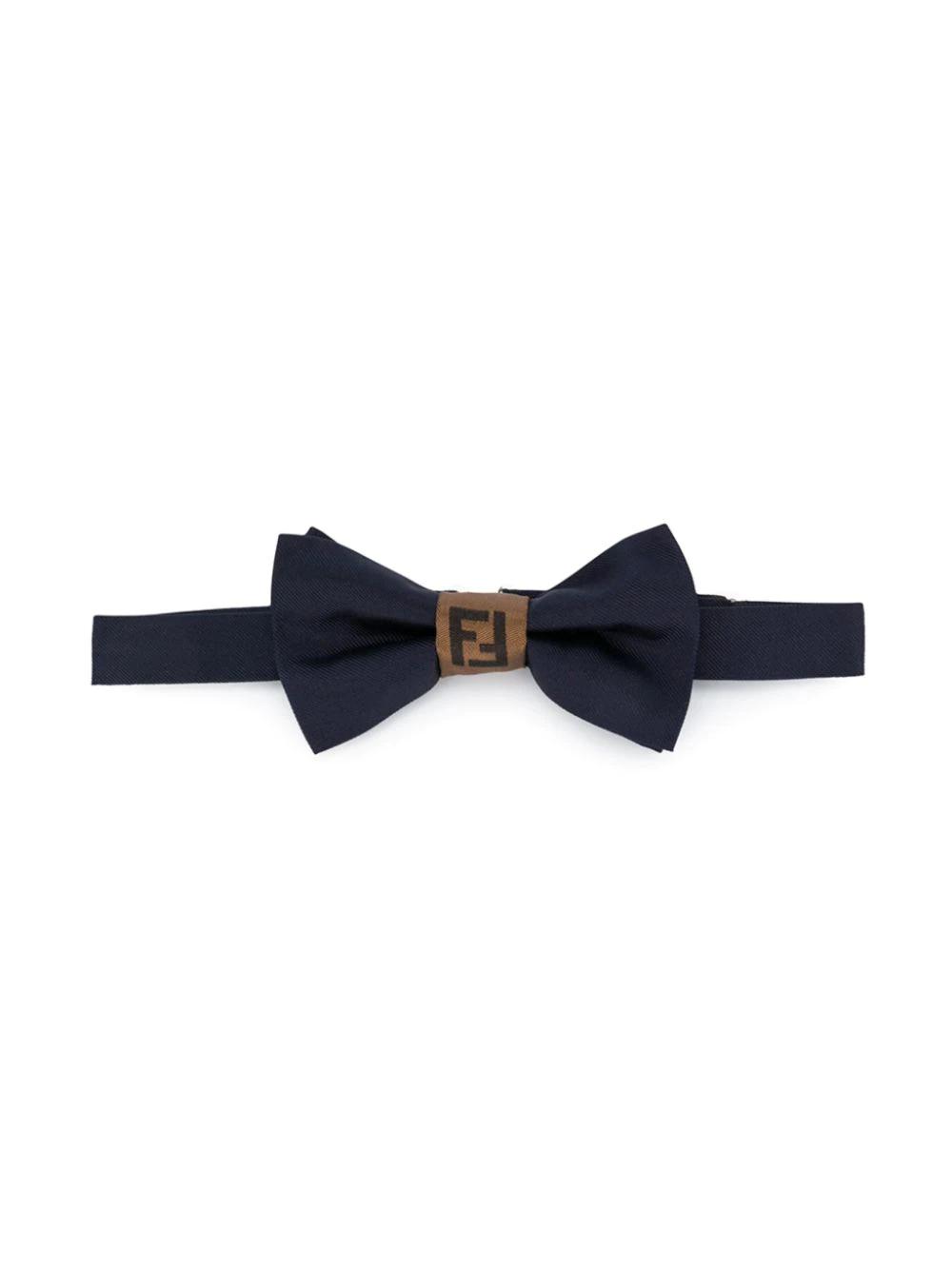 Fendi Children | галстук-бабочка с логотипом | Clouty