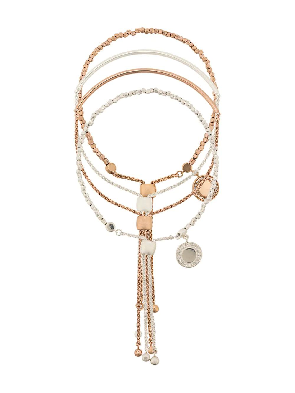 Astley Clarke | Astley Clarke Double Cylinder Cosmos bracelet stack | Clouty