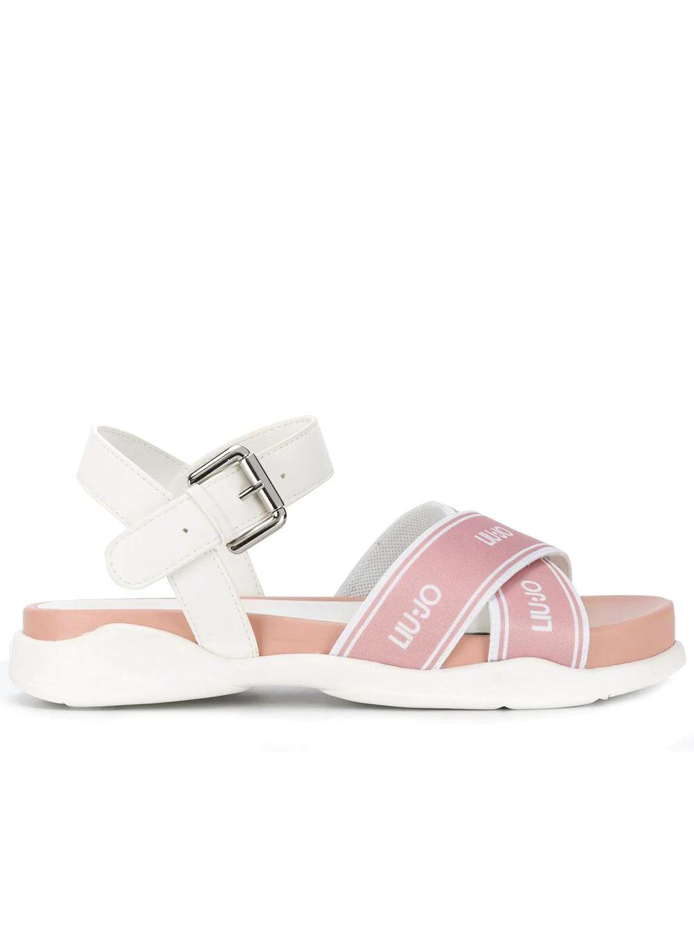Liu•Jo | сандалии с перекрестными ремешками | Clouty