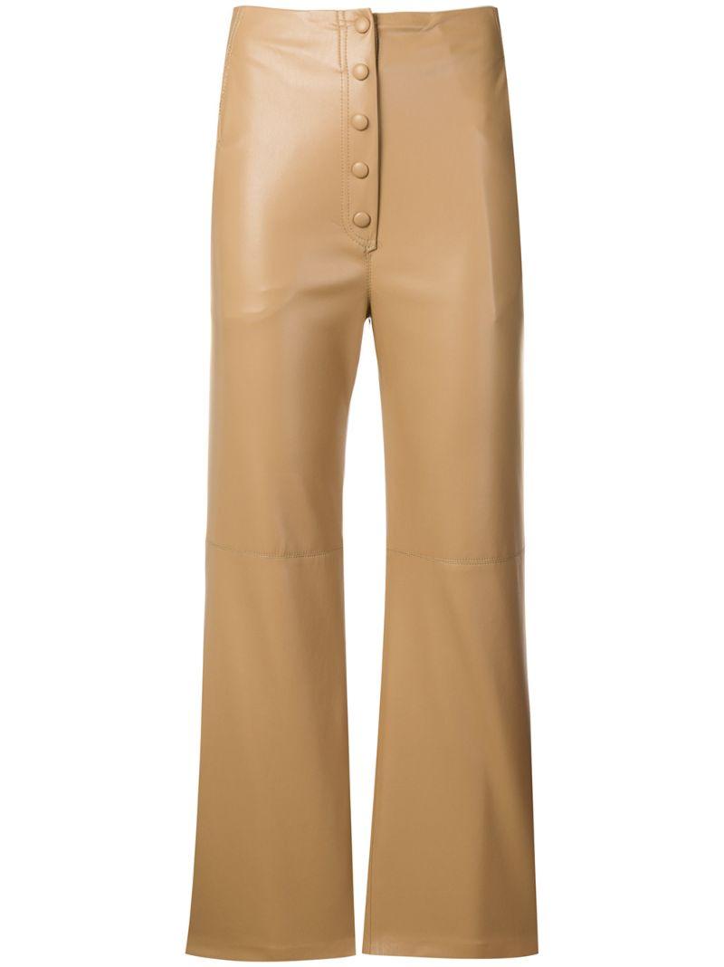 Nanushka | укороченные брюки Sora | Clouty