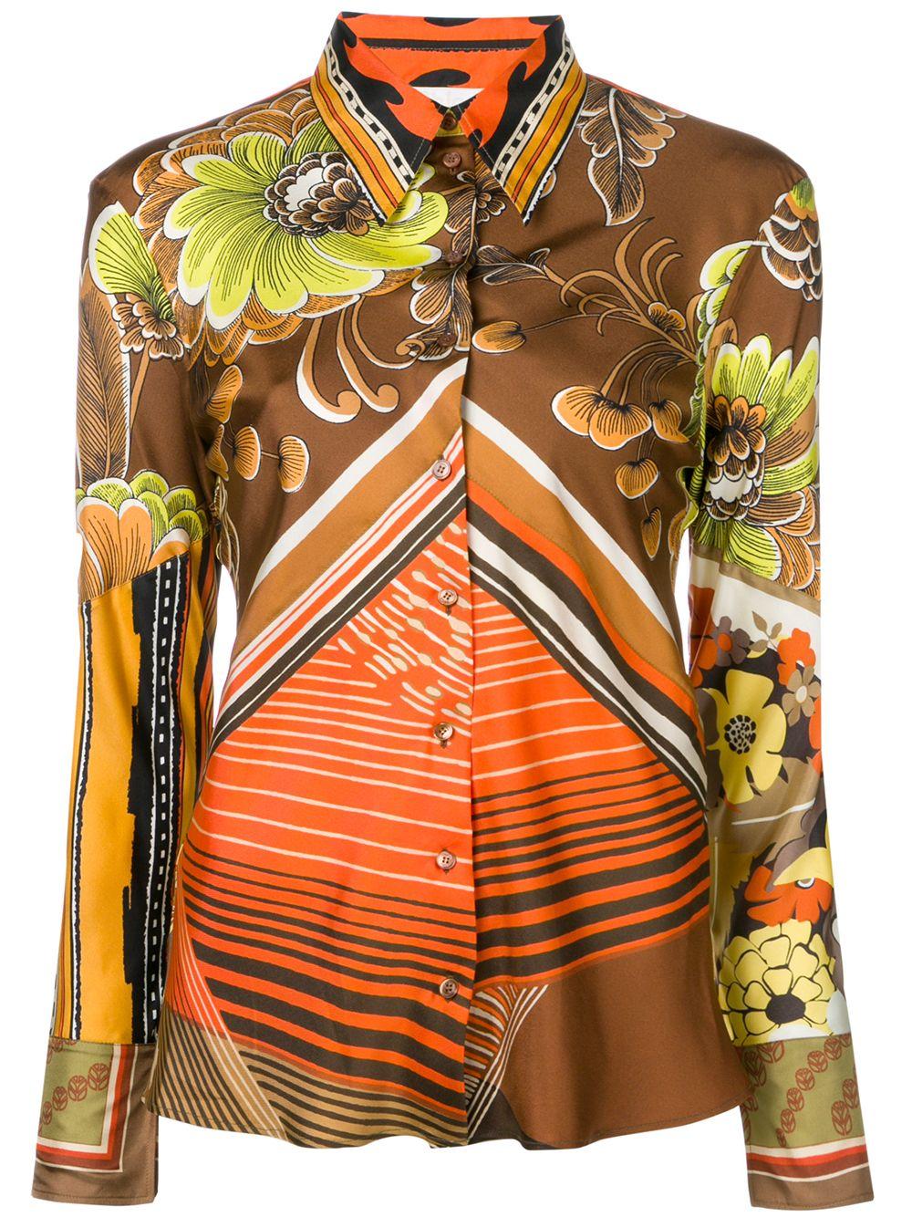 Chloé | рубашка Caravan с принтом | Clouty