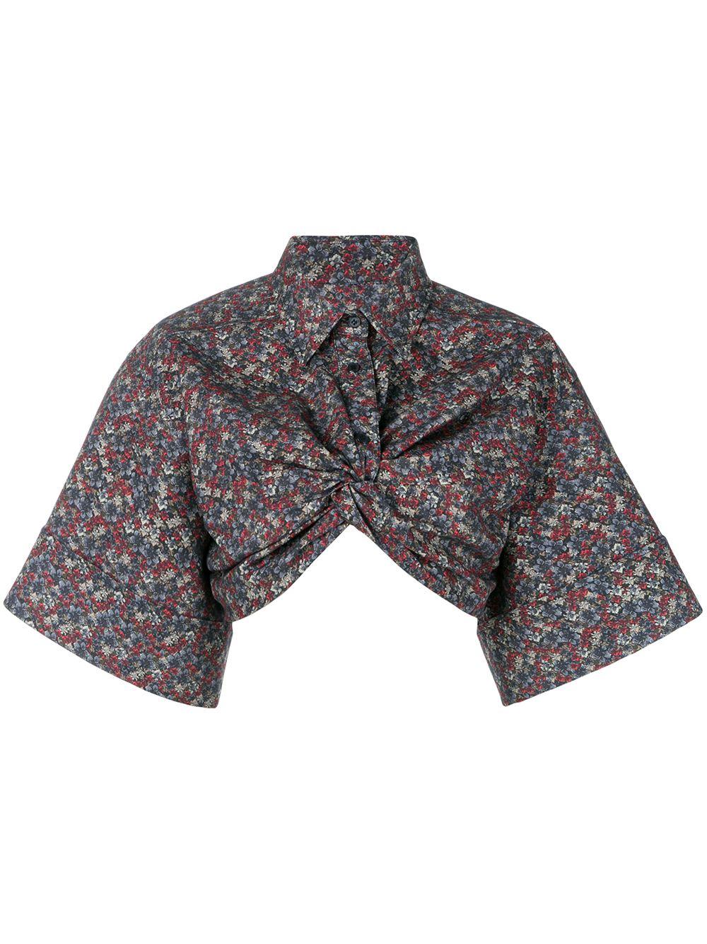 Pushbutton | укороченная блузка | Clouty