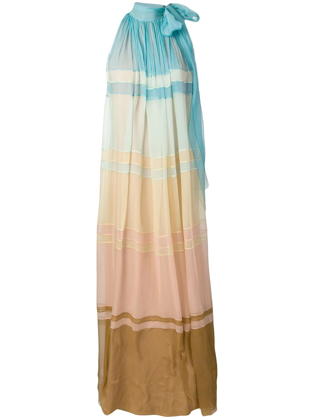 Alberta Ferretti | платье макси с эффектом градиент | Clouty