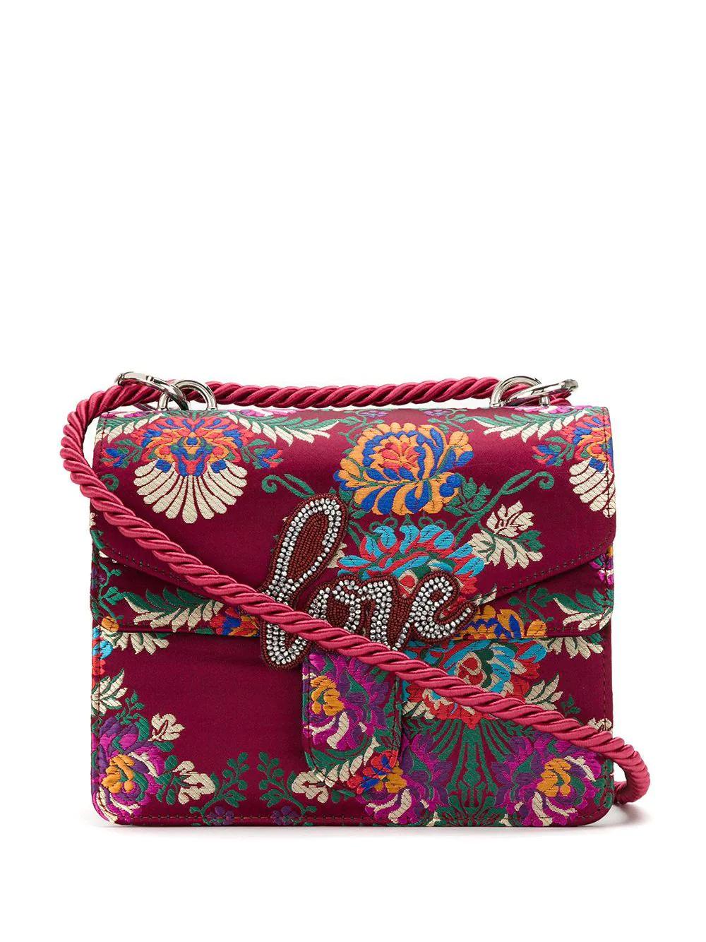 Isla | сумка на плечо с вышивкой Love | Clouty
