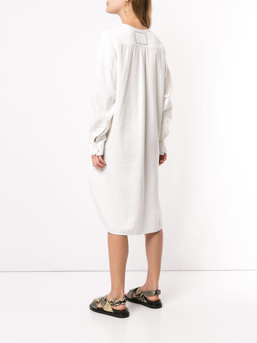 Bassike | платье-рубашка в ломаную клетку | Clouty