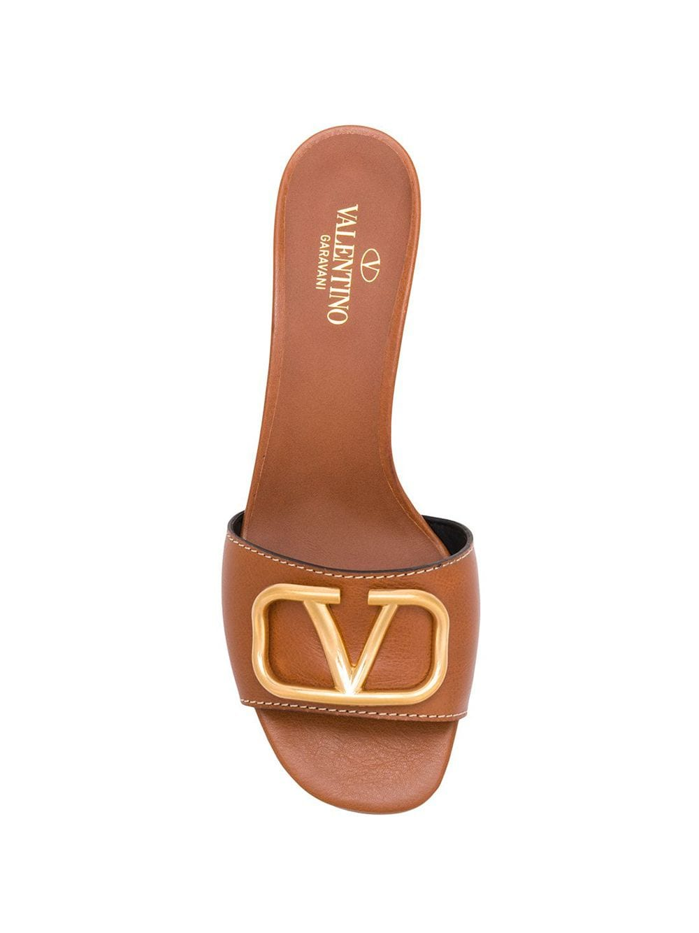 VALENTINO | мюли Valentino Garavani с логотипом Go Logo | Clouty