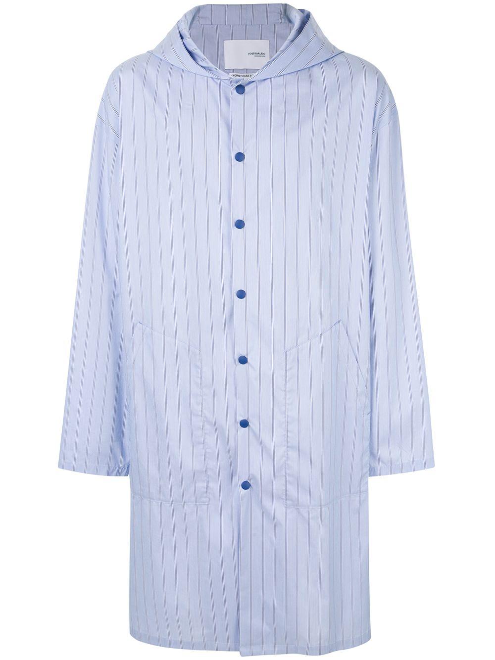 Yoshio Kubo | Yoshiokubo пальто-рубашка с принтом | Clouty