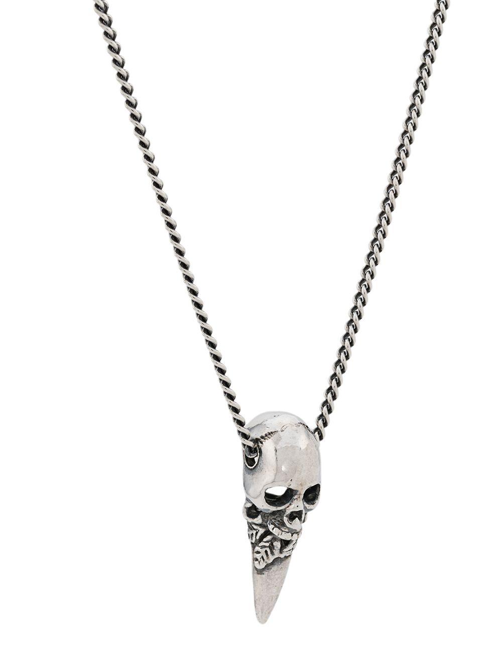 Emanuele Bicocchi   Emanuele Bicocchi skull chain bracelet   Clouty