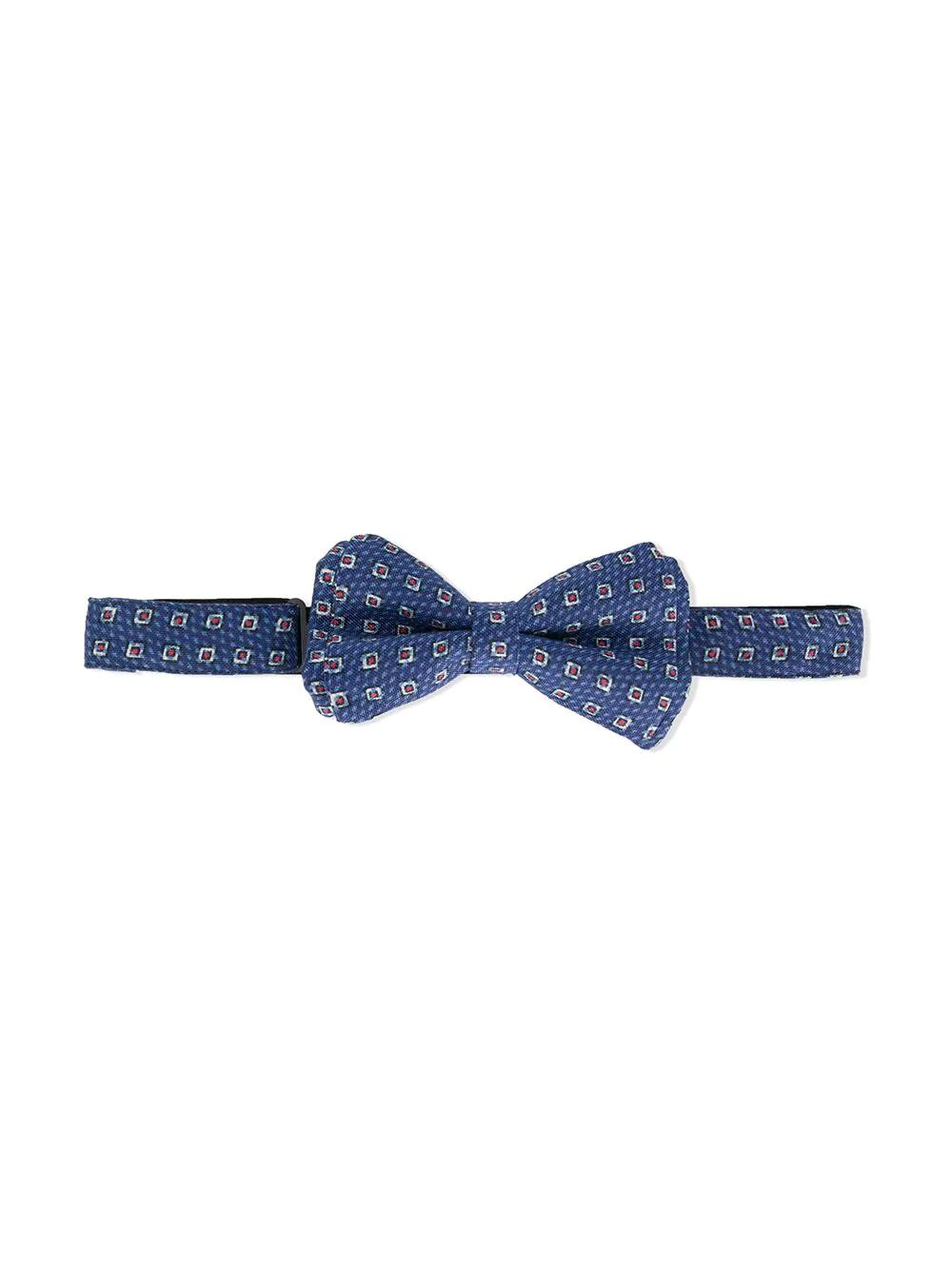 Isaia Kids | галстук-бабочка с принтом | Clouty