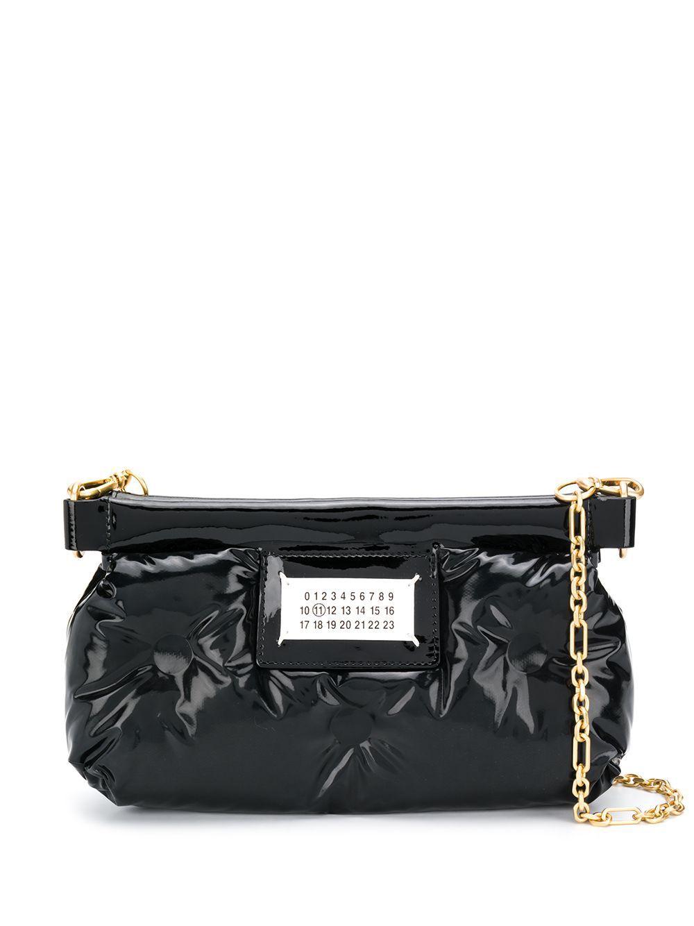 Maison Margiela   сумка через плечо с нашивкой   Clouty