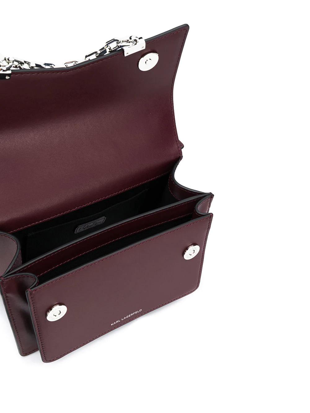 KARL LAGERFELD | Karl Lagerfeld сумка-тоут с цепочками | Clouty