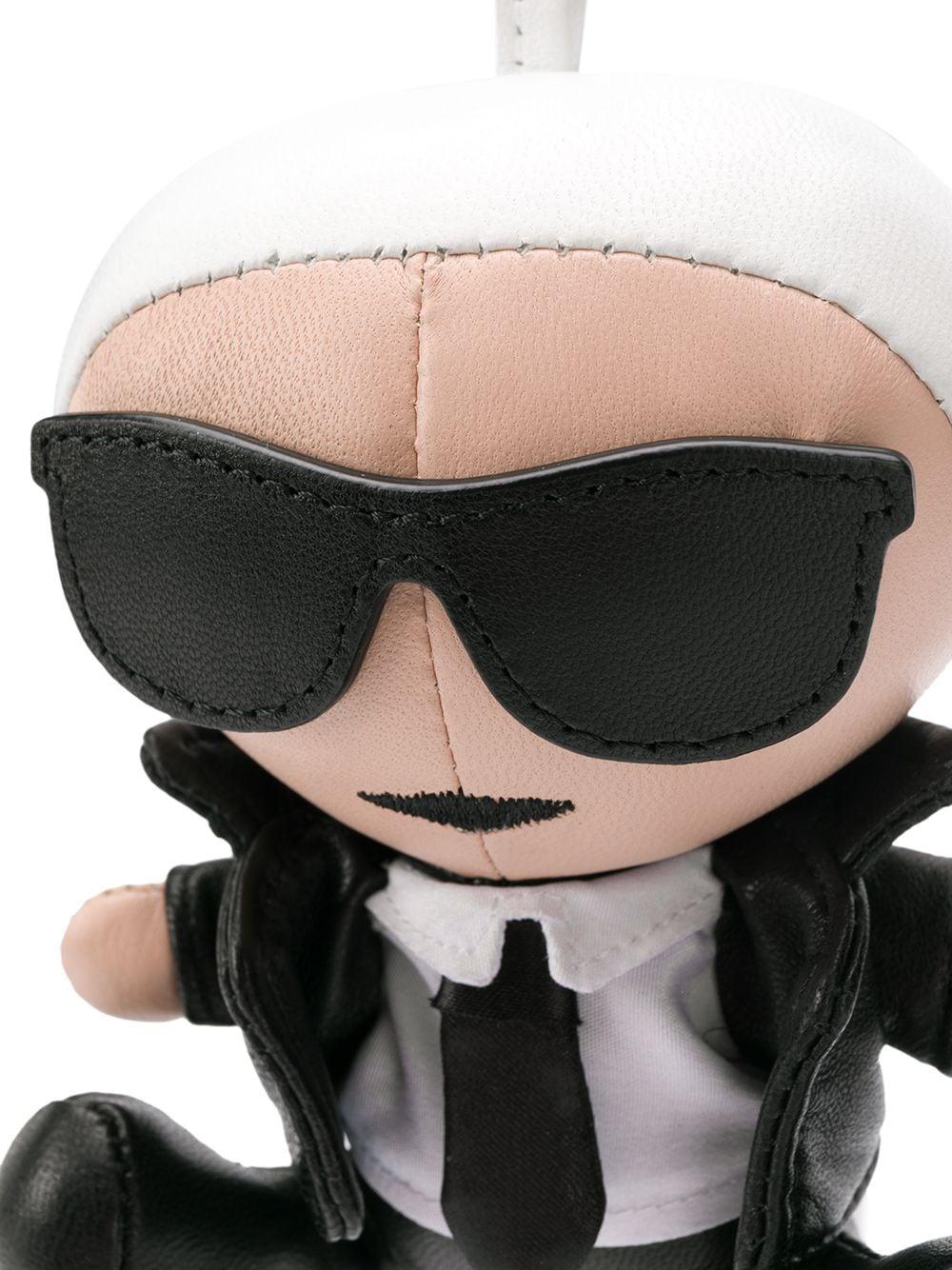KARL LAGERFELD   Karl Lagerfeld брелок K/Ikonik   Clouty