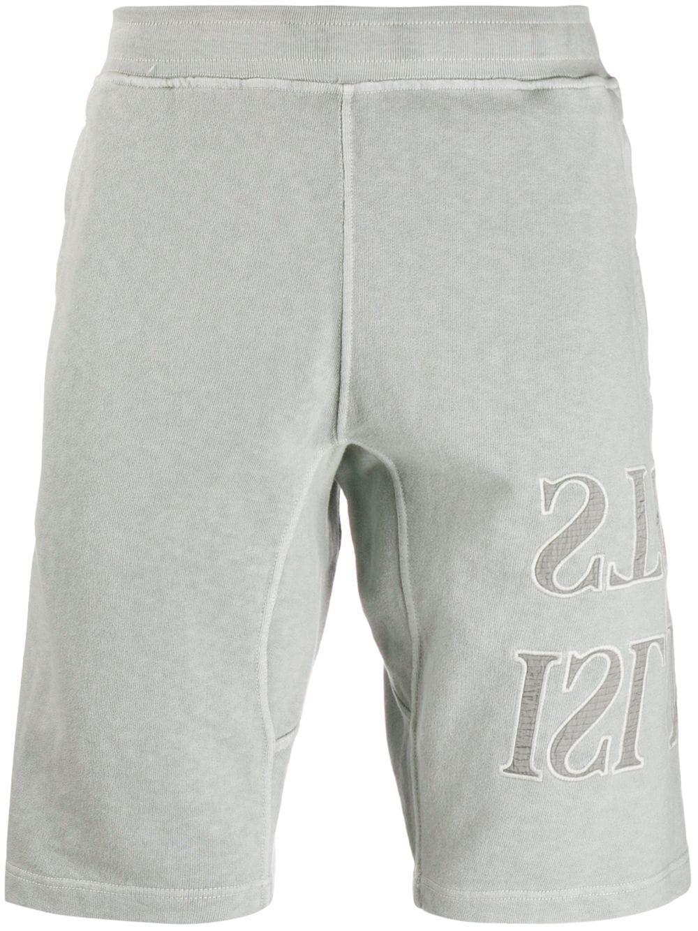 Stone Island | Stone Island шорты с вышитым логотипом | Clouty