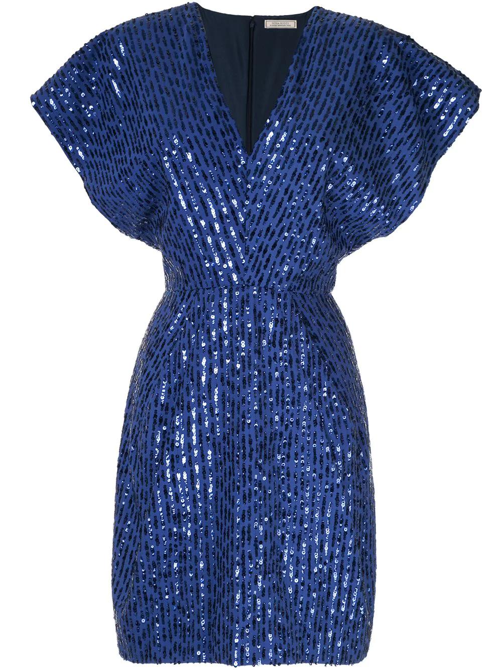 NINA RICCI | вечернее платье с пайетками | Clouty