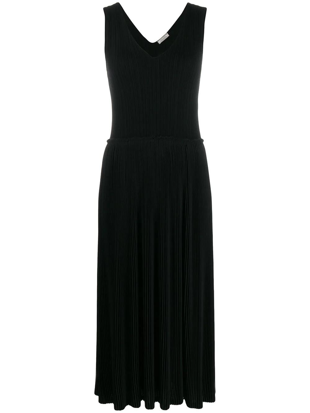 NINA RICCI | плиссированное платье миди | Clouty