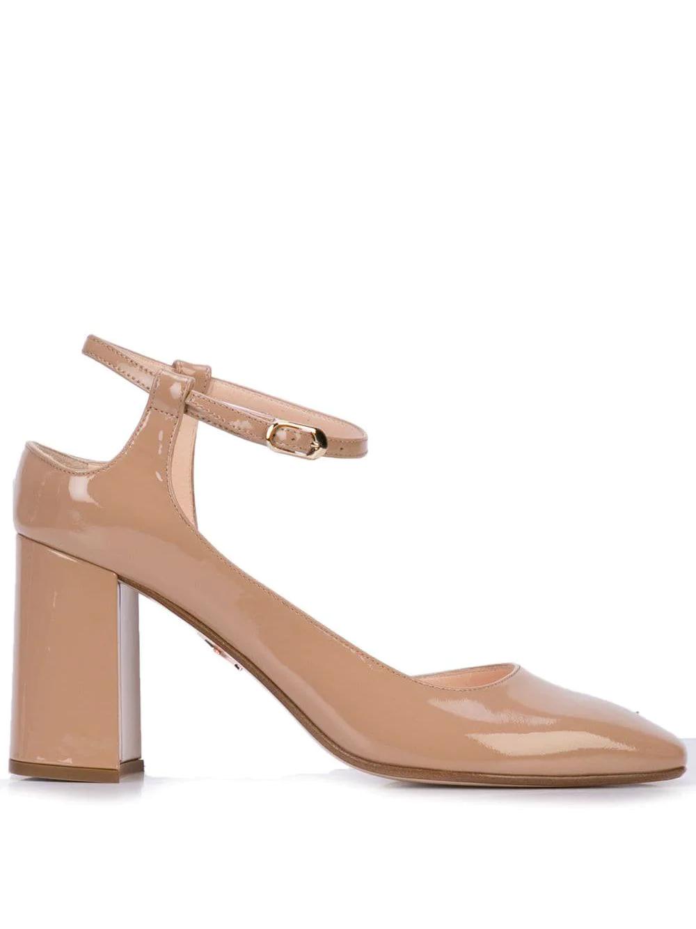 Andrea Gomez | туфли-лодочки Goia с асимметричным вырезом | Clouty