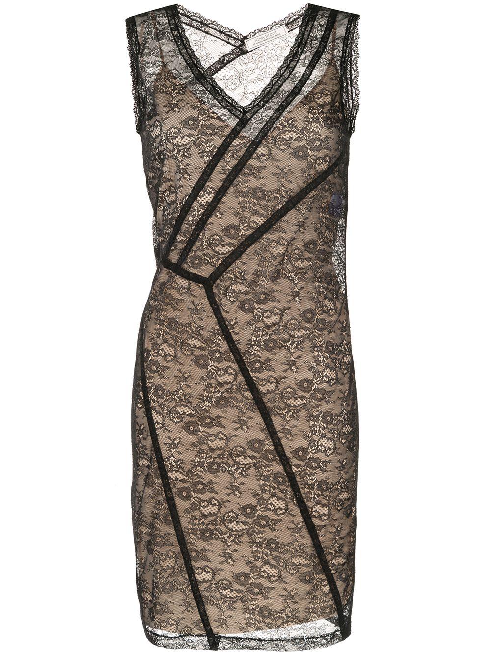NINA RICCI | кружевное платье миди | Clouty