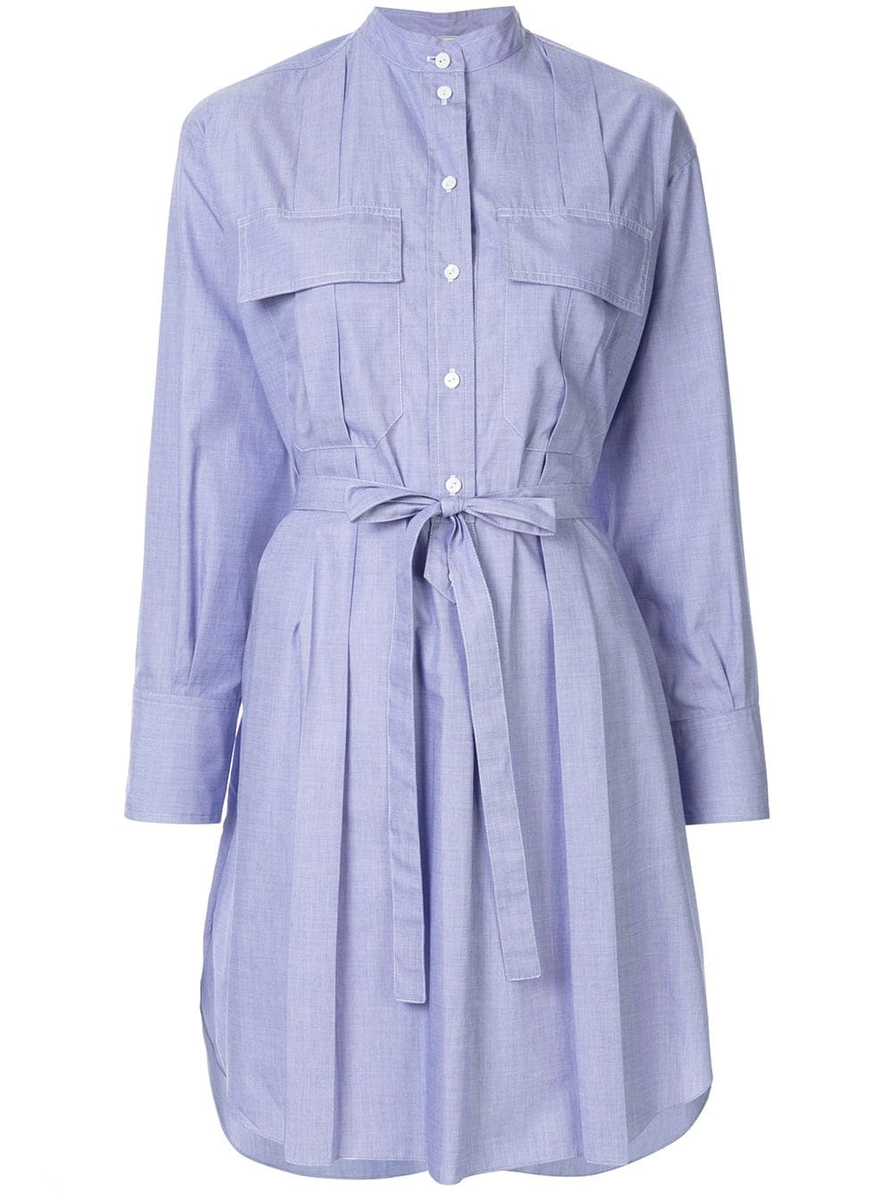 NINA RICCI   платье-рубашка с поясом   Clouty
