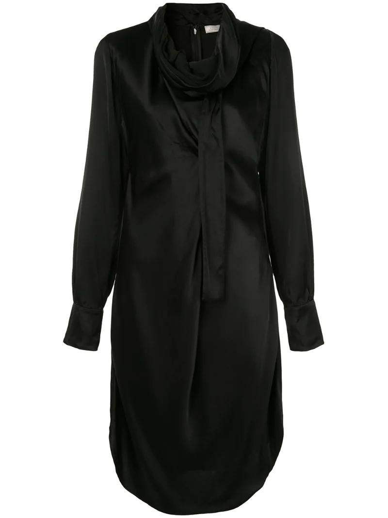 NINA RICCI | платье с шарфом | Clouty
