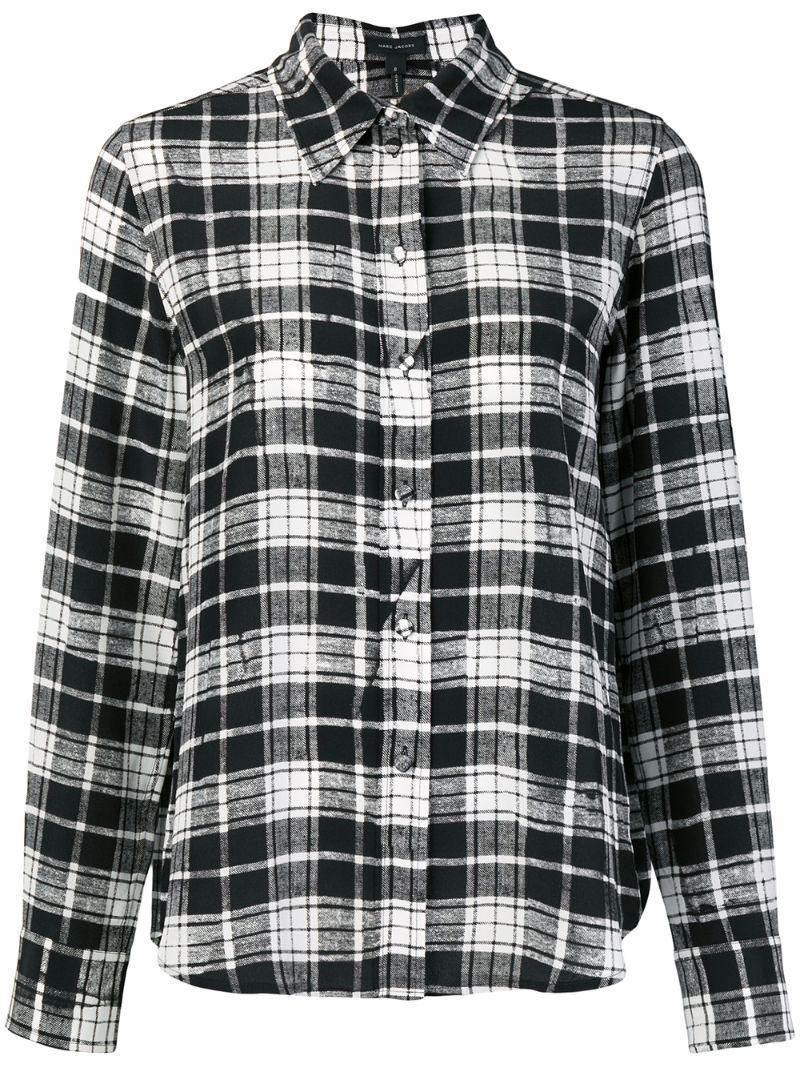 Marc Jacobs   рубашка в клетку   Clouty