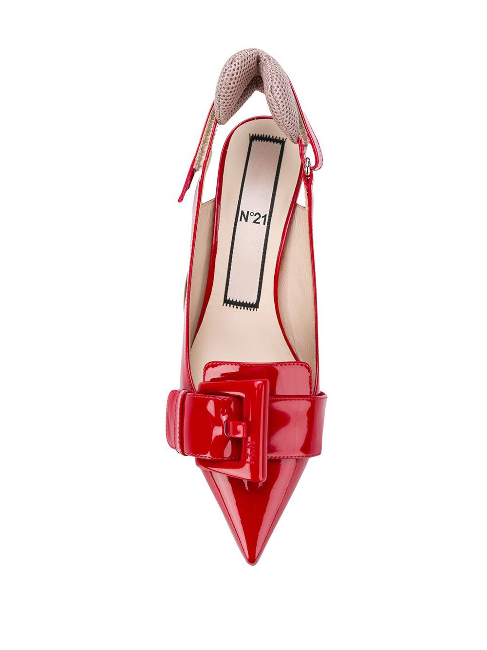 No. 21 | туфли-лодочки на низком каблуке | Clouty