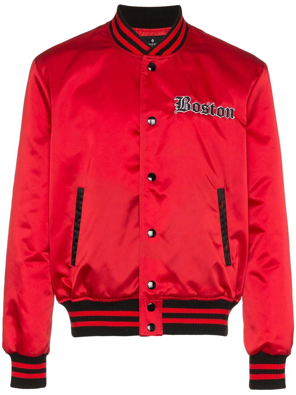 Marcelo Burlon | куртка-бомбер 'Red Sox' | Clouty