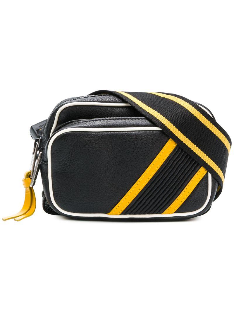 GIVENCHY   поясная сумка с контрастной окантовкой   Clouty