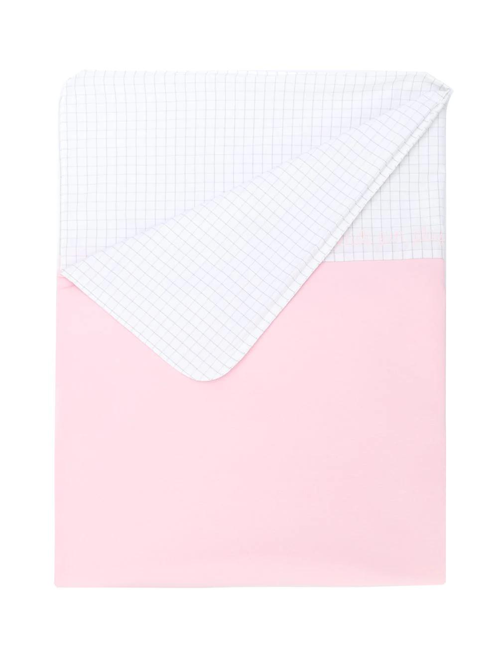 Fendi Children | одеяло с вышитым логотипом | Clouty