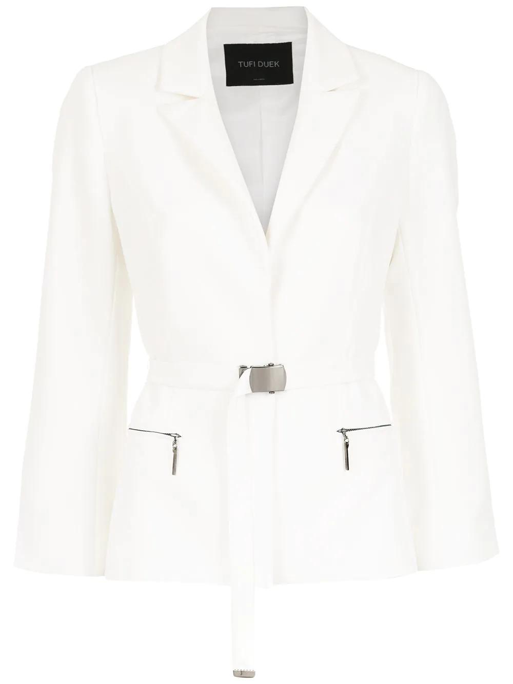 Tufi Duek | belted blazer | Clouty