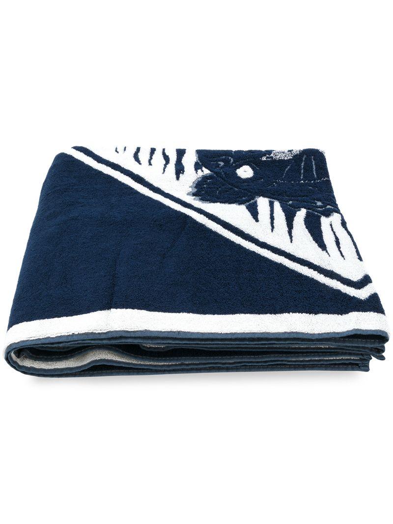 KENZO | пляжное полотенце 'Tiger' | Clouty