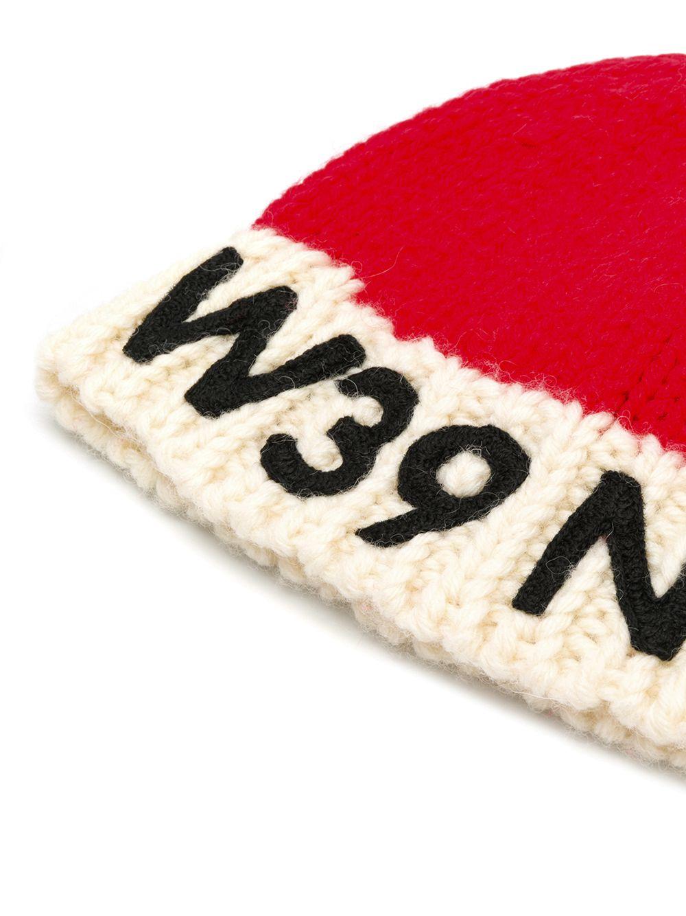 Calvin Klein | вязаная шапка с контрастным логотипом | Clouty