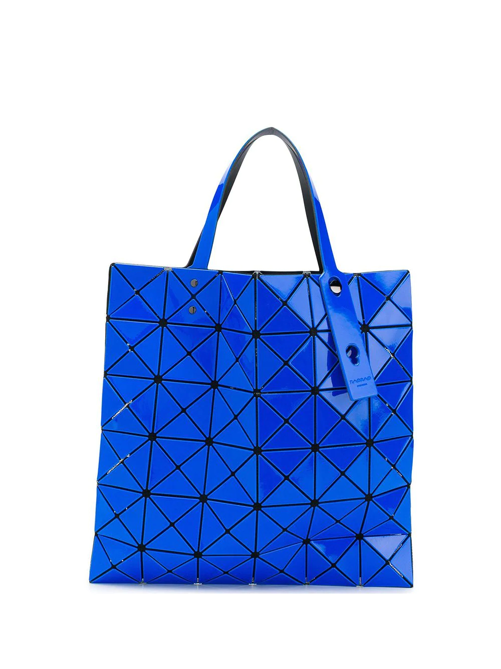 ISSEY MIYAKE | triangular applique tote bag | Clouty