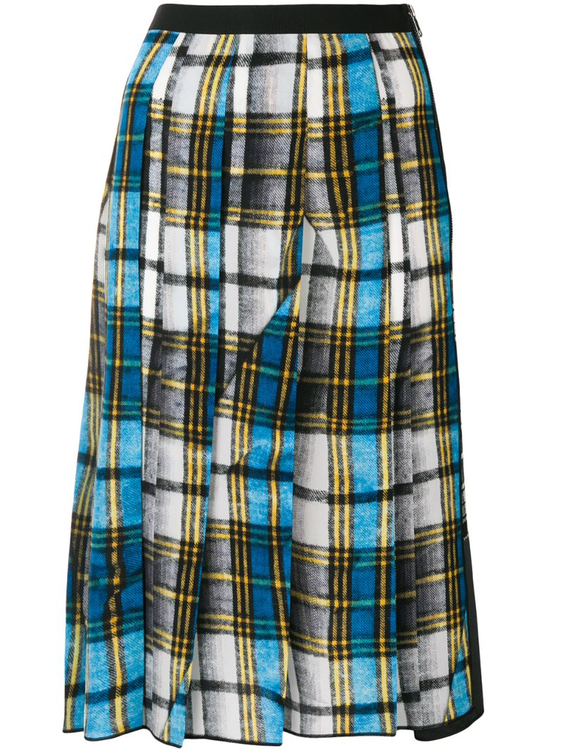 Marc Jacobs | plaid midi skirt | Clouty