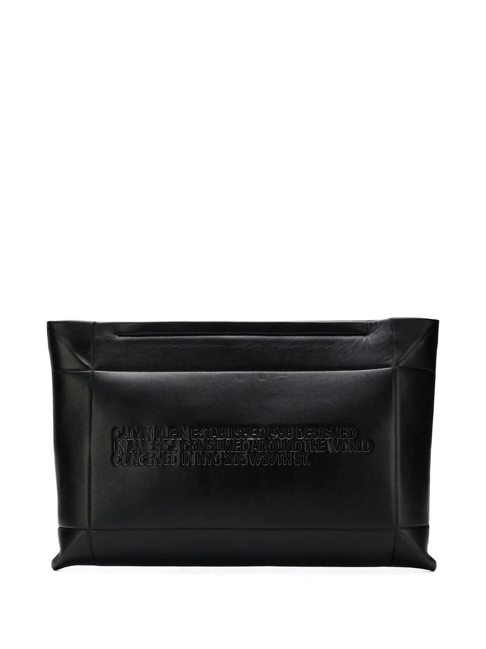 Calvin Klein | statement clutch | Clouty
