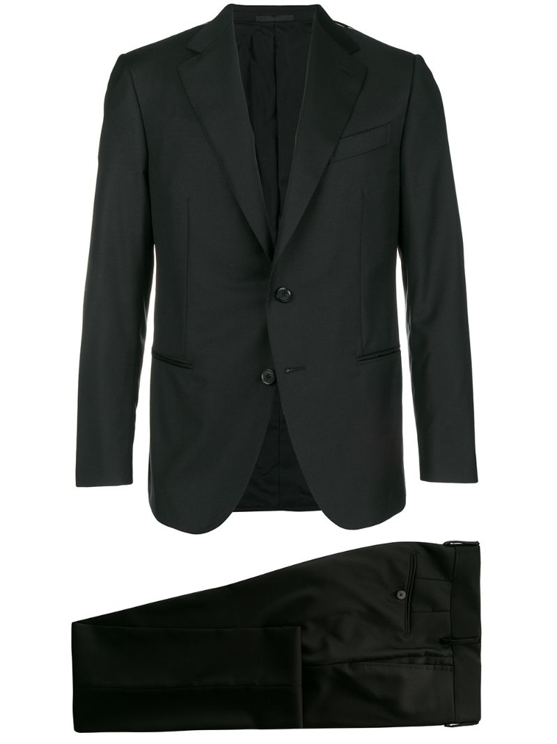 Caruso | classic two-piece suit | Clouty