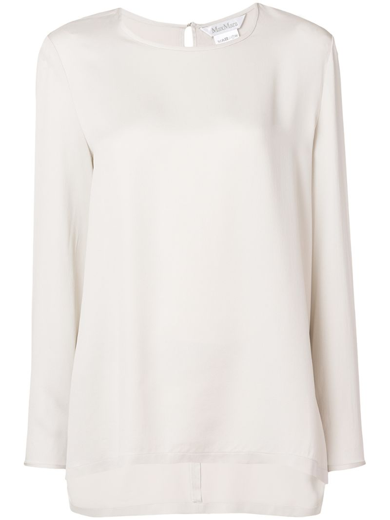 MAX MARA | базовая блузка | Clouty