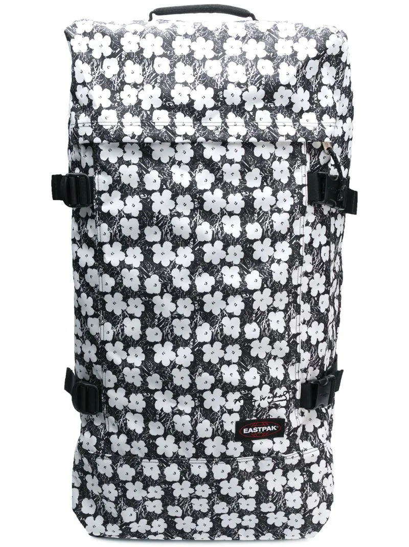 Eastpak | floral print pull bag | Clouty