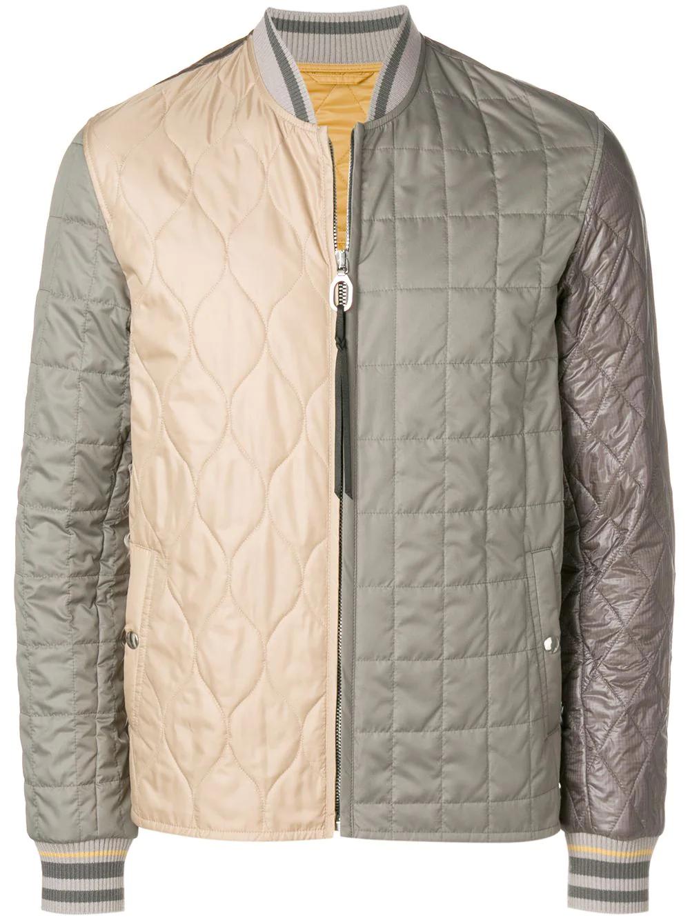 LANVIN   куртка дизайна колор-блок   Clouty